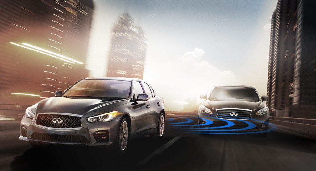 Infiniti active safety