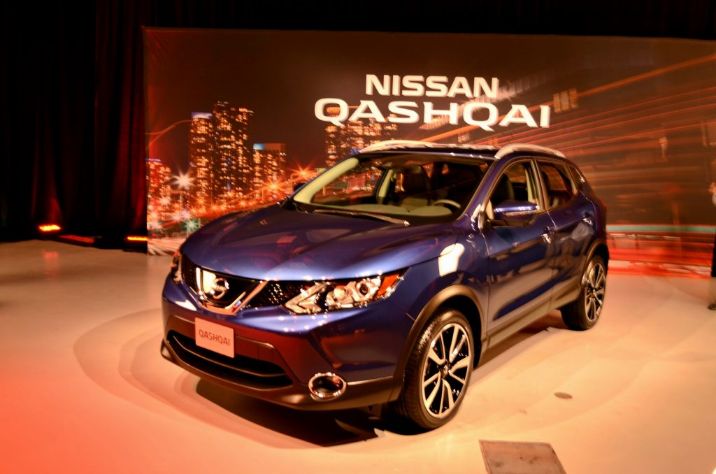 le nissan qashqai 2017 lanc au salon de d troit auto au feminin. Black Bedroom Furniture Sets. Home Design Ideas
