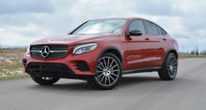 2017 Mercedes GLC Coupe